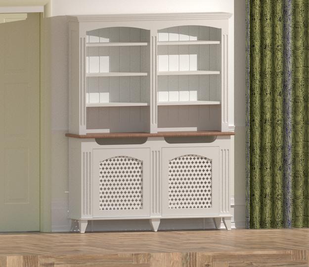 design mască de calorifer în mobilier